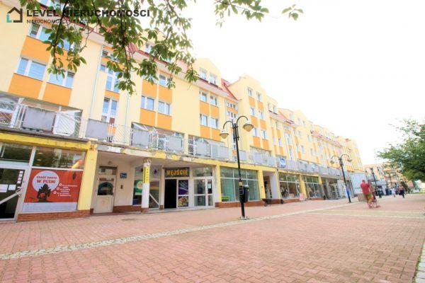 Lokal handlowo – usługowy z możliwością adaptacji na mieszkanie