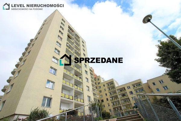 Słoneczne mieszkanie trzypokojowe z balkonem