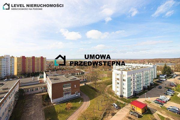 Mieszkanie czteropokojowe z dwoma balkonami