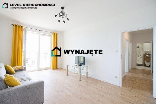 Nowe mieszkanie dwupokojowe z tarasem