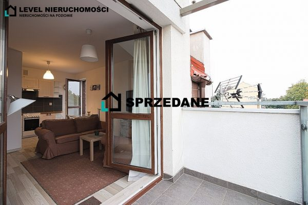 Mieszkanie 2 pokoje, 2 poziomy, 2 balkony