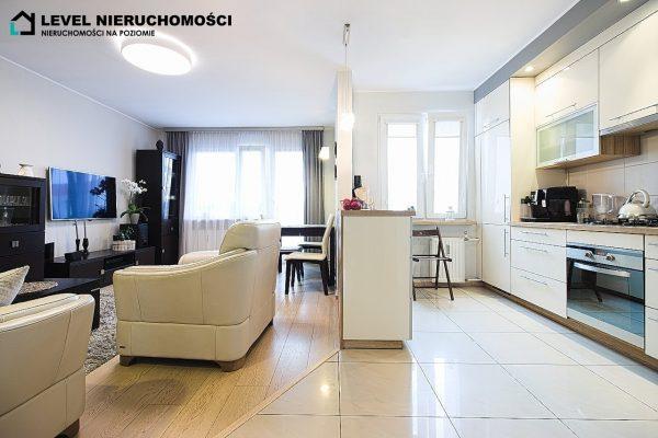 Eleganckie mieszkanie dwupokojowe