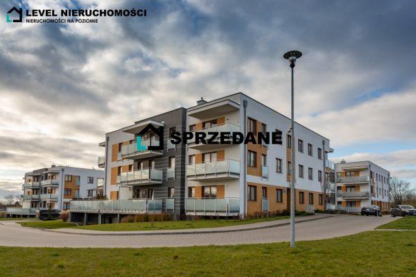 Trzypokojowe mieszkanie na nowym osiedlu