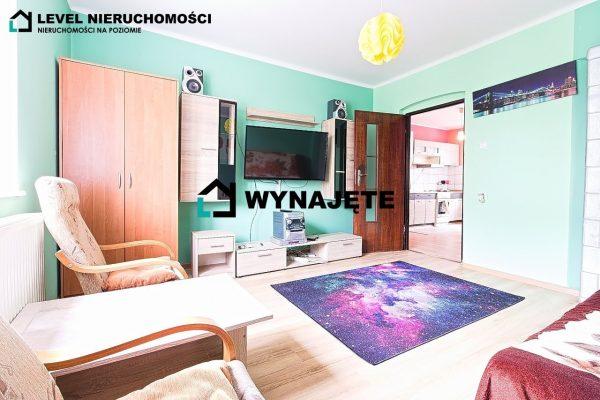 Dwupokojowe mieszkanie na parterze